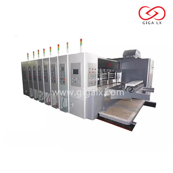 GIGA LX High Frequency Corrugated Box Making Production Chain Line Feeding Carton Printing Machine